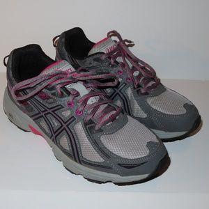 Asics Shoes - Asics Gel Venture 6 Size 10 Grey Pink